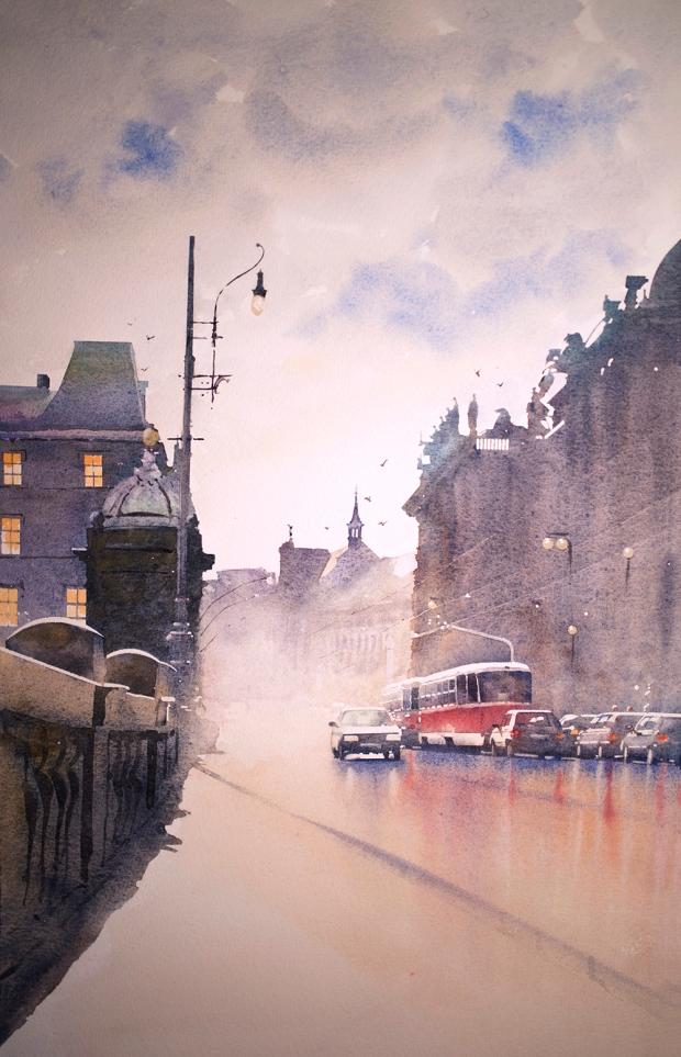 002 - Prague Rain