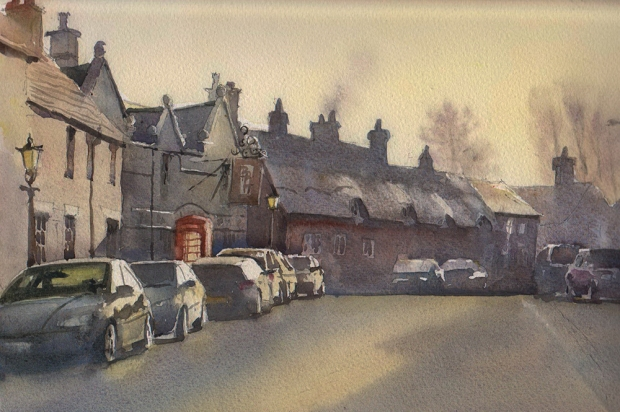 006 - Early Morning in Market Bosworth