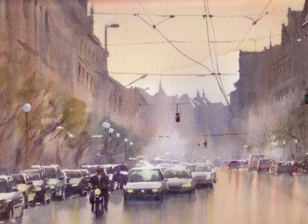 012 - Wet Day in Budapest