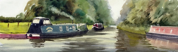 013 - Canal Boats at Shackerstone