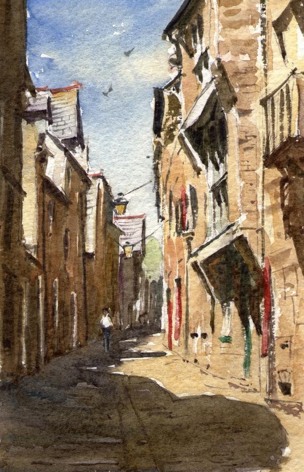025 - Dinan Street, Brittany