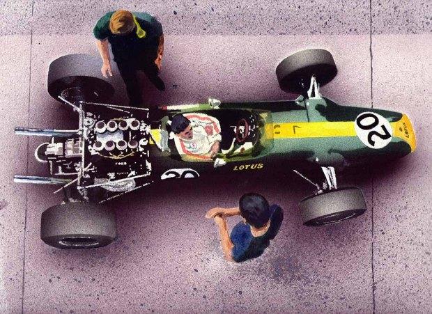 038 - Jim Clark's Lotus