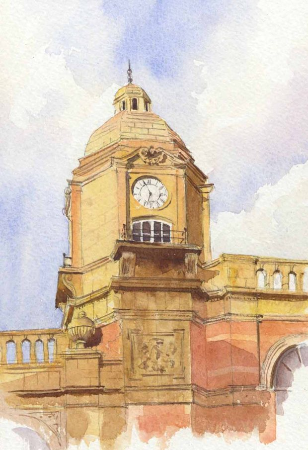 040 - Leicester Station Clock