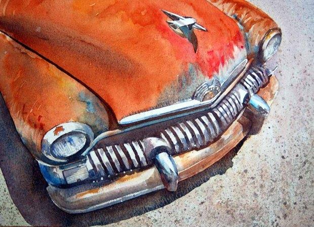 046 - Rusty American Car