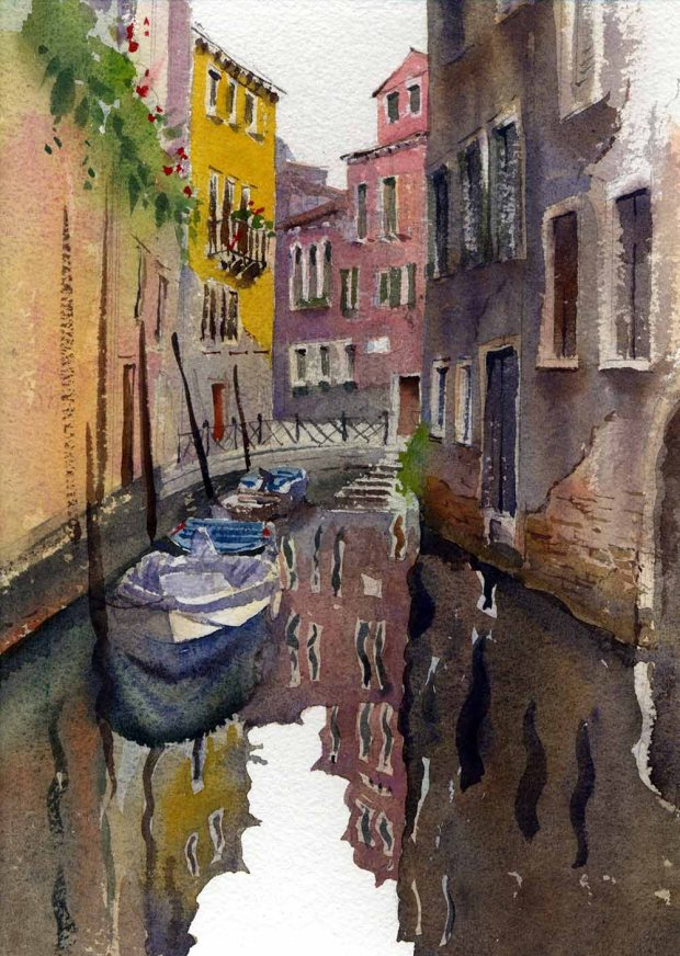 056 - The Backs Of Venice