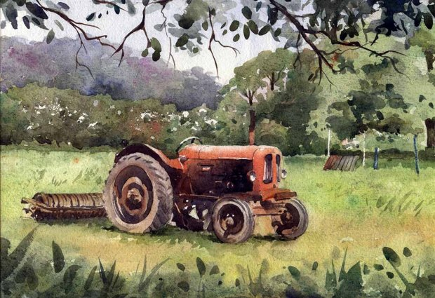 065 - Red Tractor