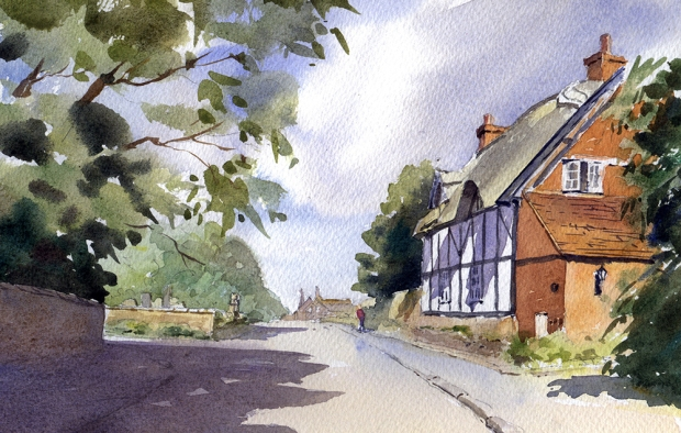085 - Thatched Cottage, Stoneleigh, Warwickshire