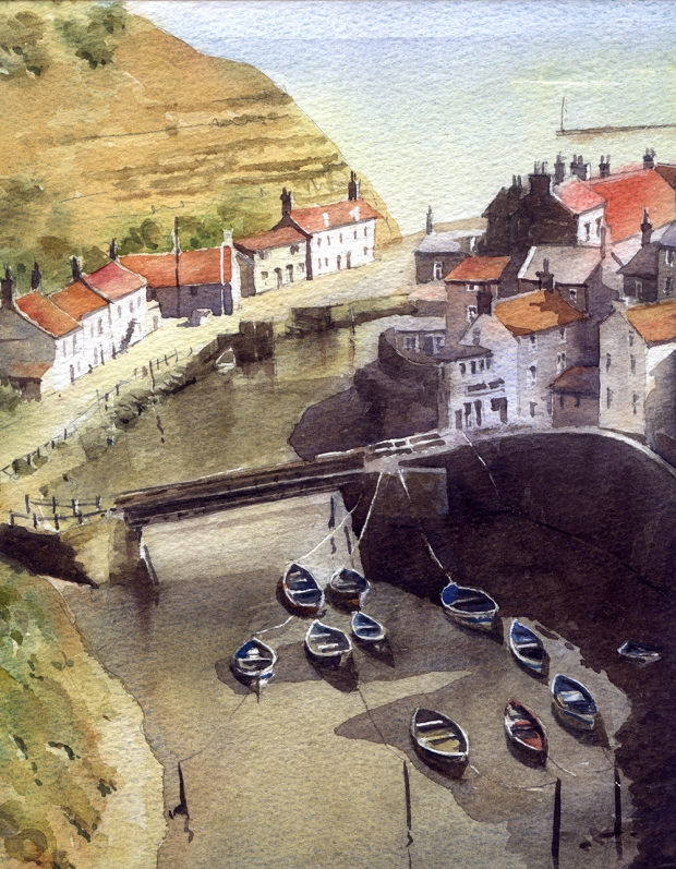 087 - Staithes, Yorkshire
