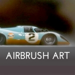 Airbrush Art Icon