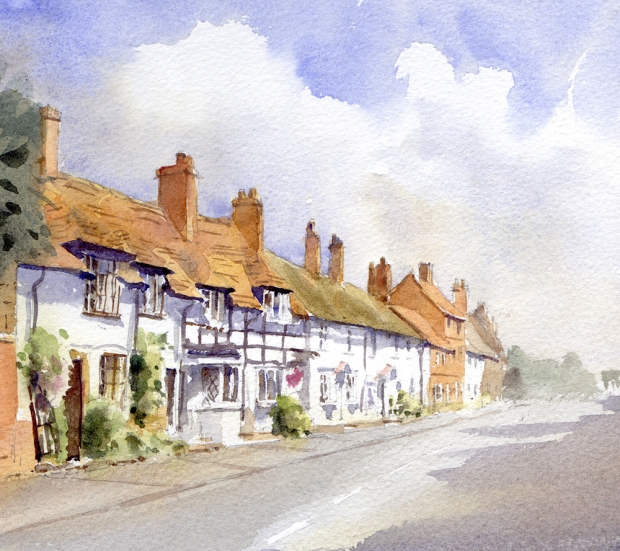 033 - Cottages at Kenilworth, Warwickshire