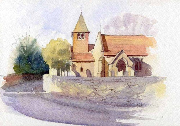 058 - Cadeby Church, Leicestershire