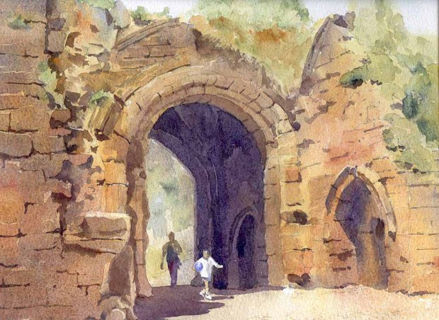 080 - The Old Arch At Kenilworth, Warwickshire