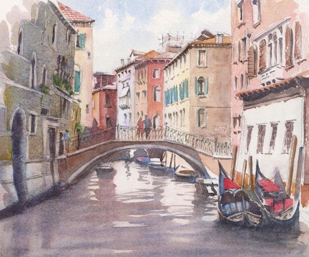 103 - Venice Gondolas
